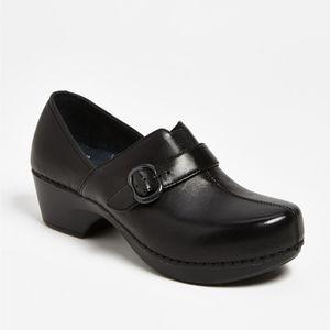 "Dansko ""Tamara"" Leather Clogs"